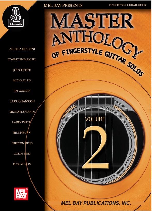 Andrea Benzoni Mel Bay Master Anthology Fingerstyle Guitar Solos